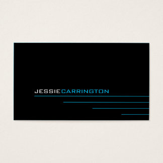 Modern Thin Lines 452 Business Card