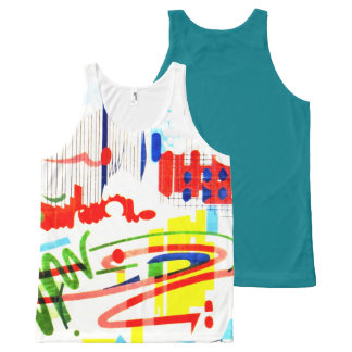 Modern Tiles - Lisbon All-Over-Print Tank Top