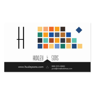 Modern Tiles Series No 3 Business Card