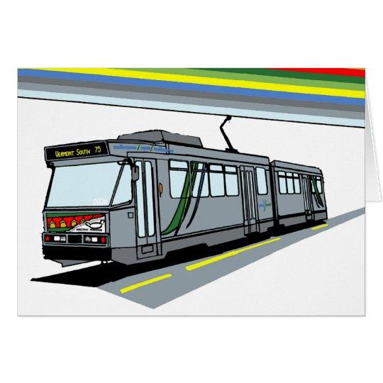Modern Tram Card