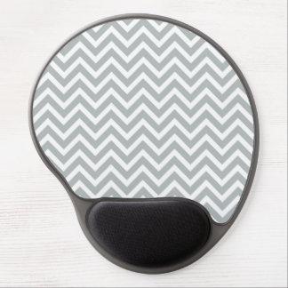 modern trend grey chevron gel mouse mats