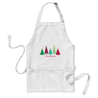 Modern trends Christmas Trees Standard Apron