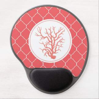 modern trends coral shell gel mouse mats