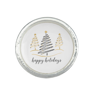 Modern Trends Holiday Trees Photo Ring