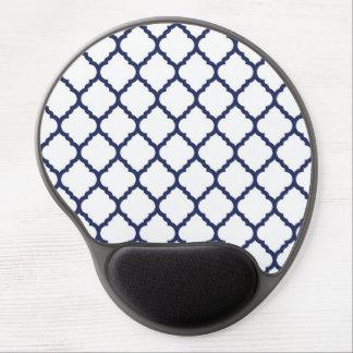 modern trends quatrefoil gel mouse mats