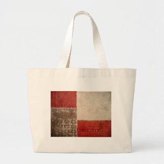 Modern Trendy Abstract Large Tote Bag