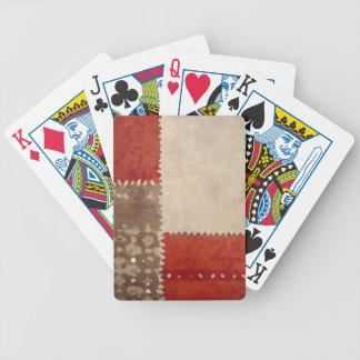 Modern Trendy Abstract Poker Deck