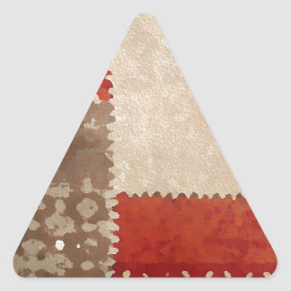 Modern Trendy Abstract Triangle Sticker