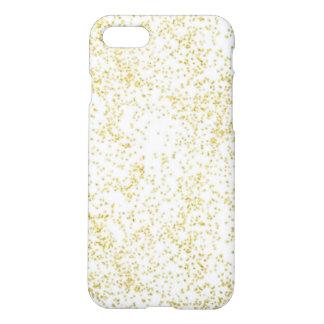 Modern Trendy Gold Glitter iphone Case