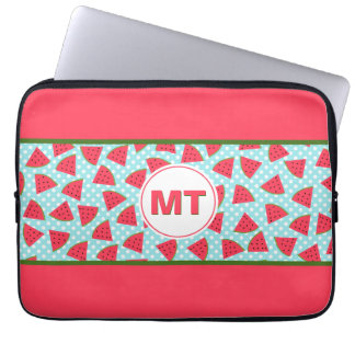 Modern Trendy Graphic Watermelon Fruit Pattern Computer Sleeve