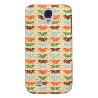 Modern Trendy Lemon Pattern Galaxy S4 Case