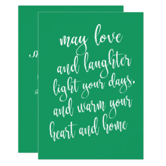 Modern Trendy St Patrick's Day Party Card