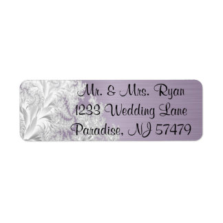 Modern Trendy Wedding in a Amethyst Purple