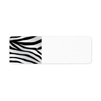 Modern Trendy Zebra Stripes Pattern