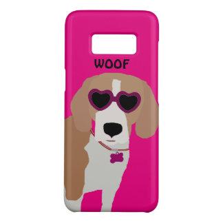 Modern tri-color beagle dog Case-Mate samsung galaxy s8 case