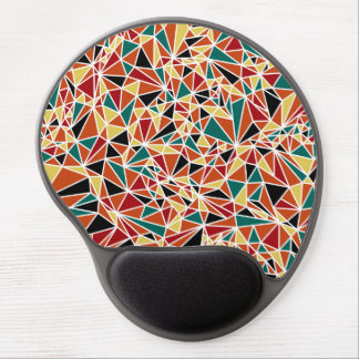 Modern Triangle Pattern Gel Mouse Pad