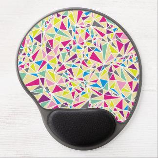 Modern Triangle Pattern Gel Mouse Mat