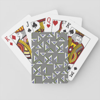 Modern Triangles Playing Cards