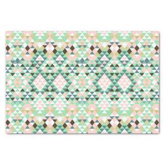 Modern Tribal Aztec Southwest Geometric CBendel Tissue Paper