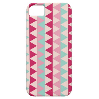 Modern tribal geometric pattern triangle print iPhone 5 cover