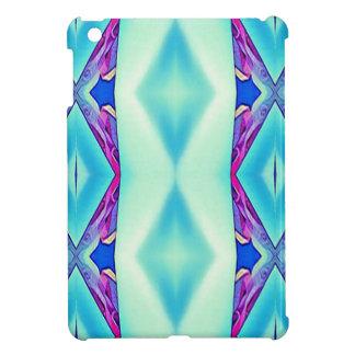 Modern Tribal Shades Of Teal Lavender iPad Mini Case