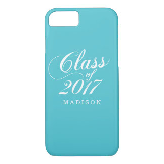 Modern Turquoise | Graduation iPhone 8/7 Case