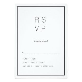 Modern Unica RSVP Card