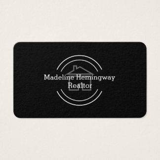 Modern Unique Real Estate Business Card
