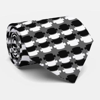 Modern Vertebrae Logo Chiropractor Neck Tie