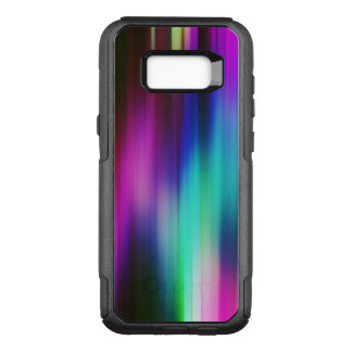 Modern Vibrant Color Rays Pattern GR1 OtterBox Commuter Samsung Galaxy S8+ Case
