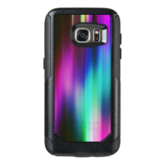 Modern Vibrant Color Rays Pattern OtterBox Samsung Galaxy S7 Case
