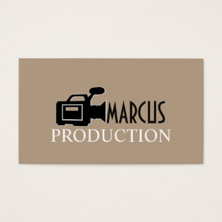 Modern Videographer, Film Productions Business Card