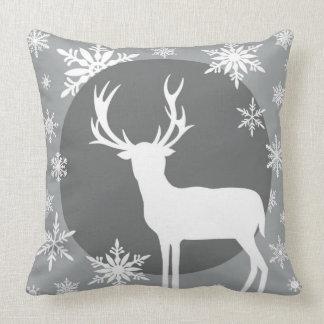 Deer Silhouette Throw Pillows, Deer Silhouette Pillow Designs
