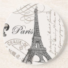 modern vintage Eiffel Tower Coaster