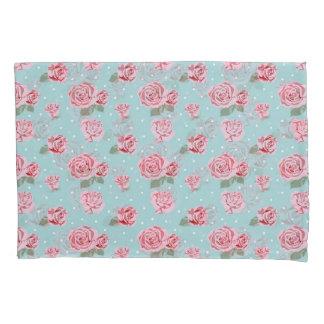 Modern Vintage Elegant Rose Pillowcase