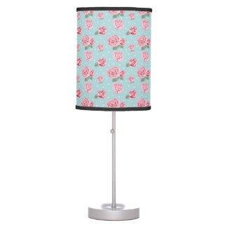Modern Vintage Elegant Rose Table Lamp