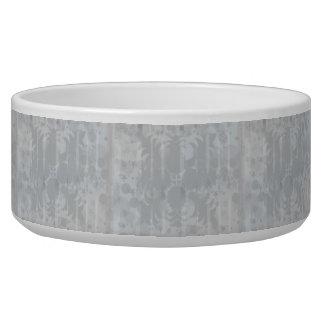 Modern Vintage Floral Silver Grey Pattern