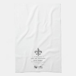 MODERN VINTAGE FRENCH BISTRO KITCHEN TOWEL