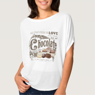 modern vintage french chocolates T-Shirt