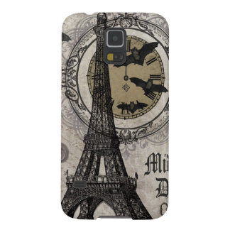 modern vintage french halloween Eiffel tower Case For Galaxy S5