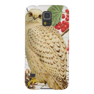 modern vintage french winter owl galaxy s5 case