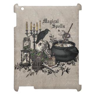 Modern vintage Halloween WITCHES BREW iPad Case
