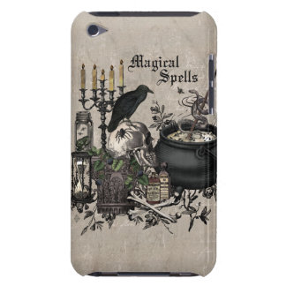 Modern vintage Halloween WITCHES BREW iPod Touch Case-Mate Case