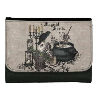 Modern vintage Halloween WITCHES BREW Wallets