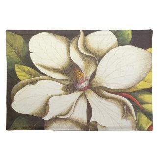 modern vintage magnolia placemat