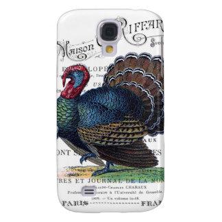 modern vintage turkey galaxy s4 case