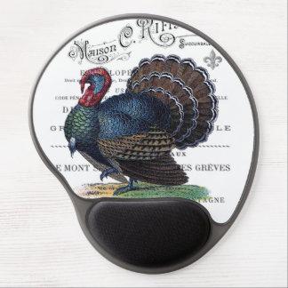 modern vintage Turkey Gel Mouse Mats