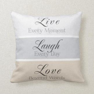 Modern Virtues Throw Pillow