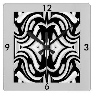 Modern Wall Clock -Home  Decor -Black/White/Gray