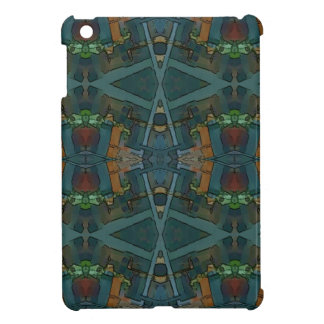 Modern Warmed Toned Masculine Pattern Cover For The iPad Mini